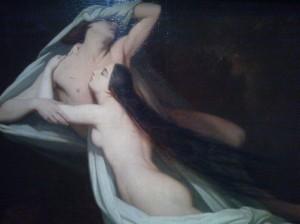 Les Ombres de Paolo et Francesca dans la tourmente infernale, Ary Scheffer.